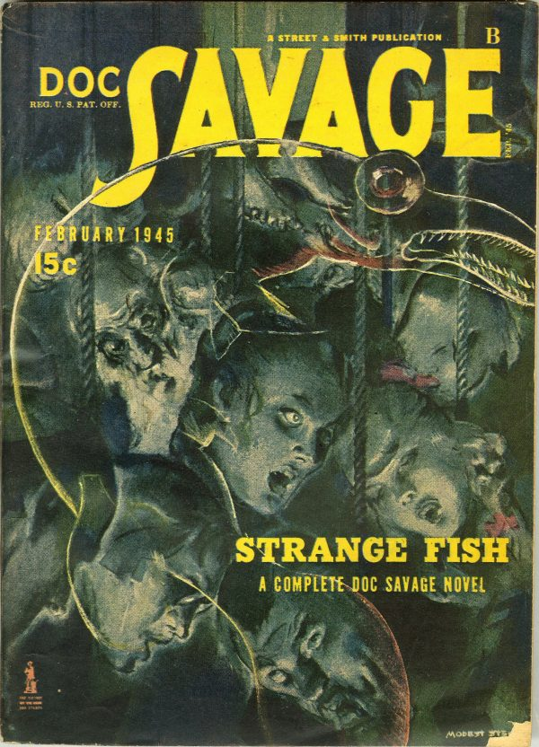 Doc Savage February 1945