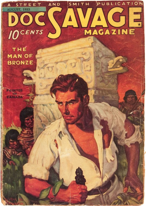 Doc Savage First Issue - Canadian Edition