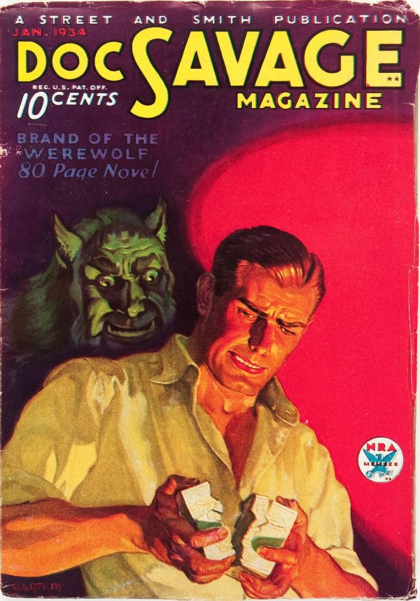 Doc Savage - January 1934