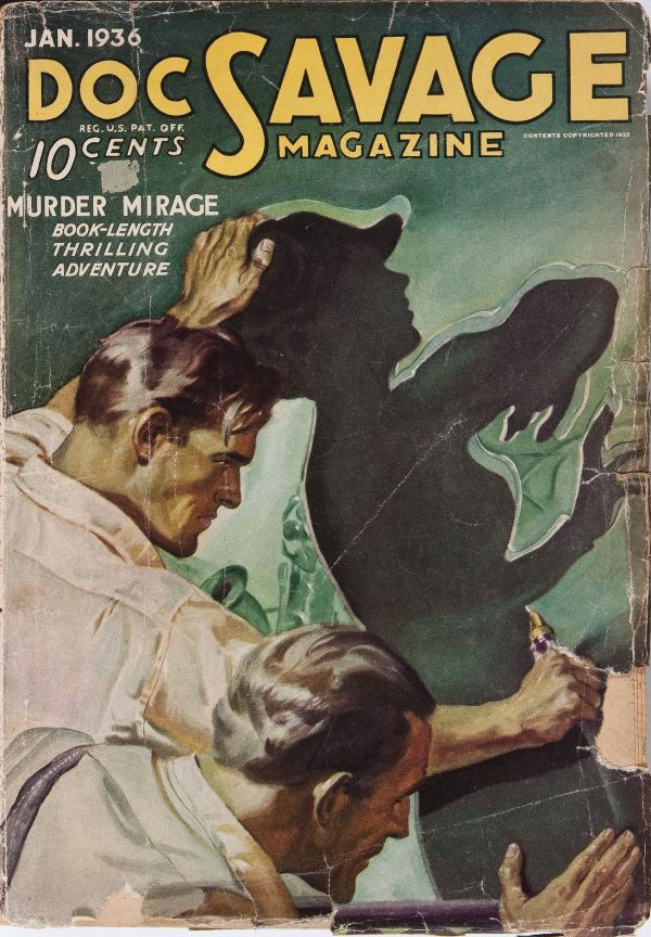 Doc Savage January 1936