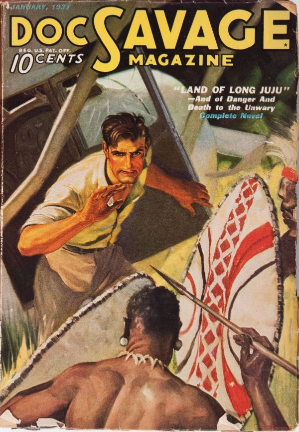 Doc Savage January 1937