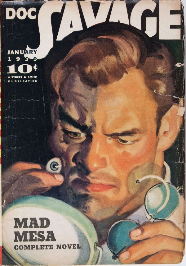 Doc Savage January 1939