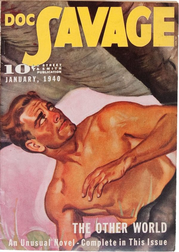 Doc Savage January 1940