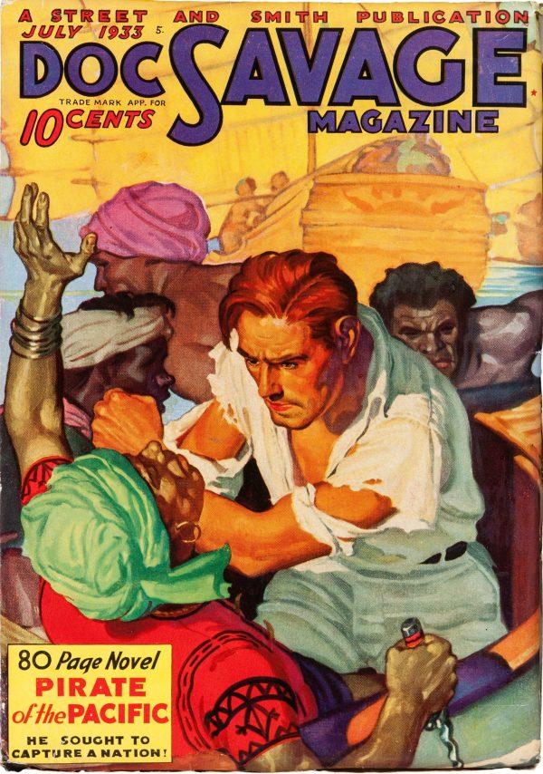 Doc Savage July 1933
