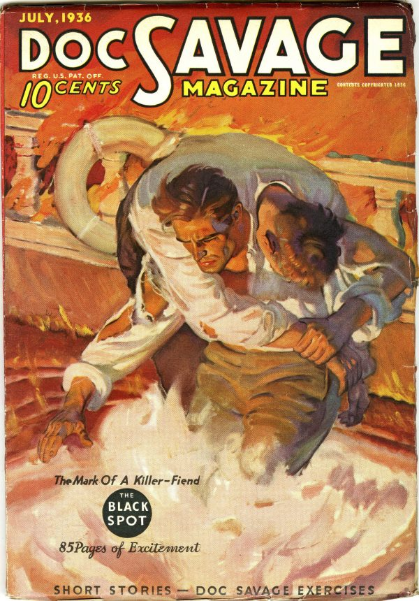 Doc Savage July 1936