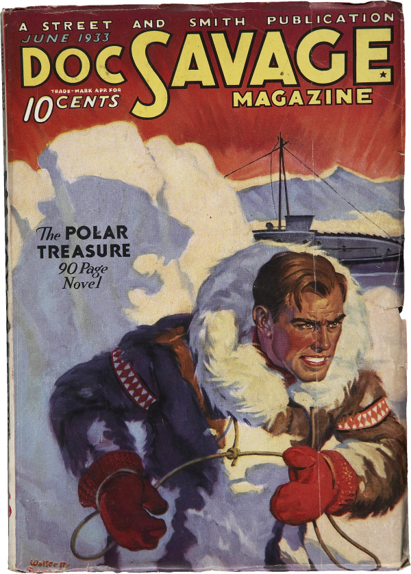 Doc Savage June 1933