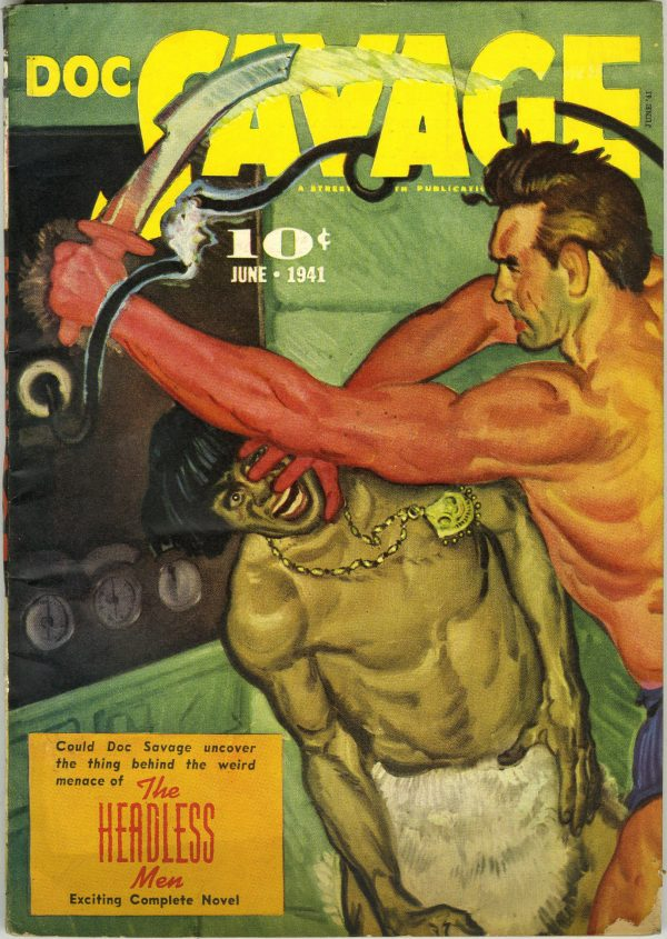 Doc Savage June 1941