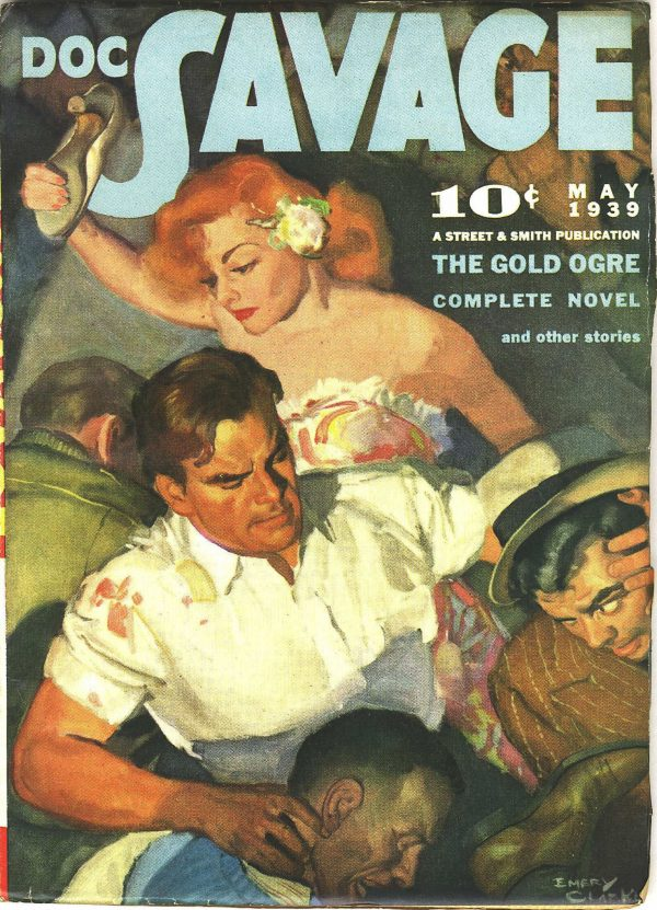 Doc Savage May 1939