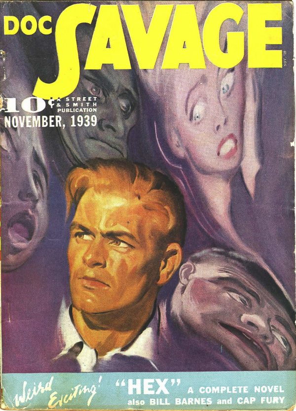 Doc Savage November 1939
