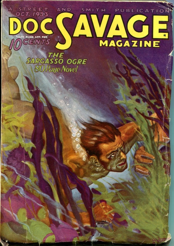 Doc Savage October 1933