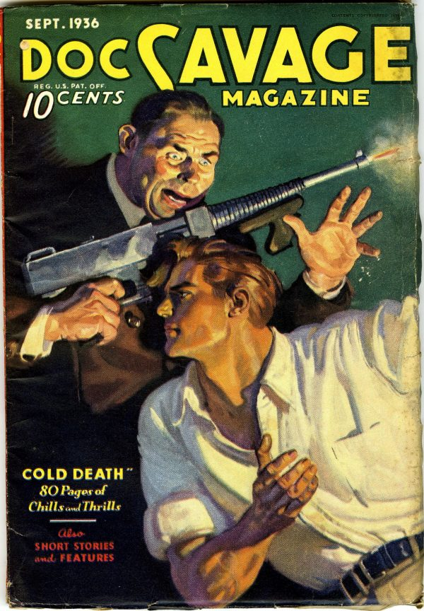 Doc Savage Sept 1936