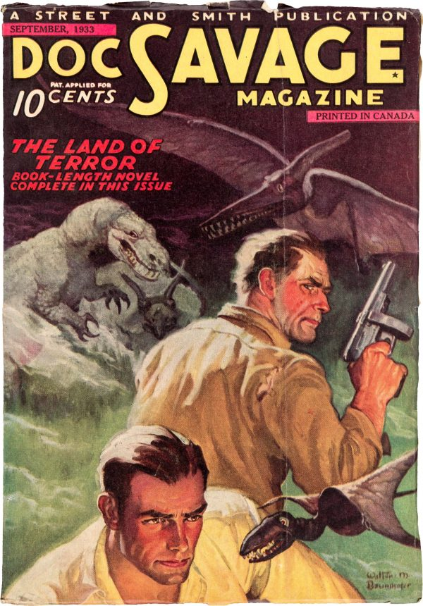 Doc Savage V1#2 Canadian Edition