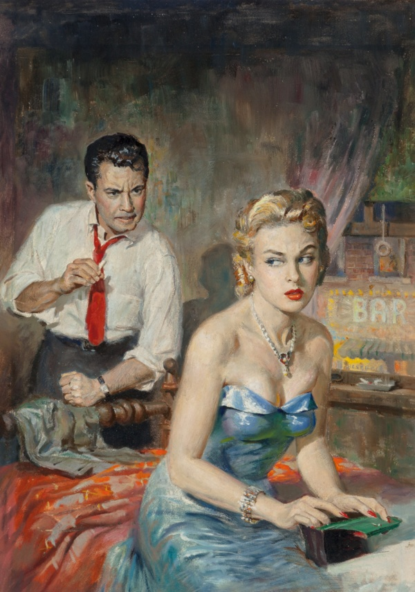 Mambo to Murder, paperback cover, 1955