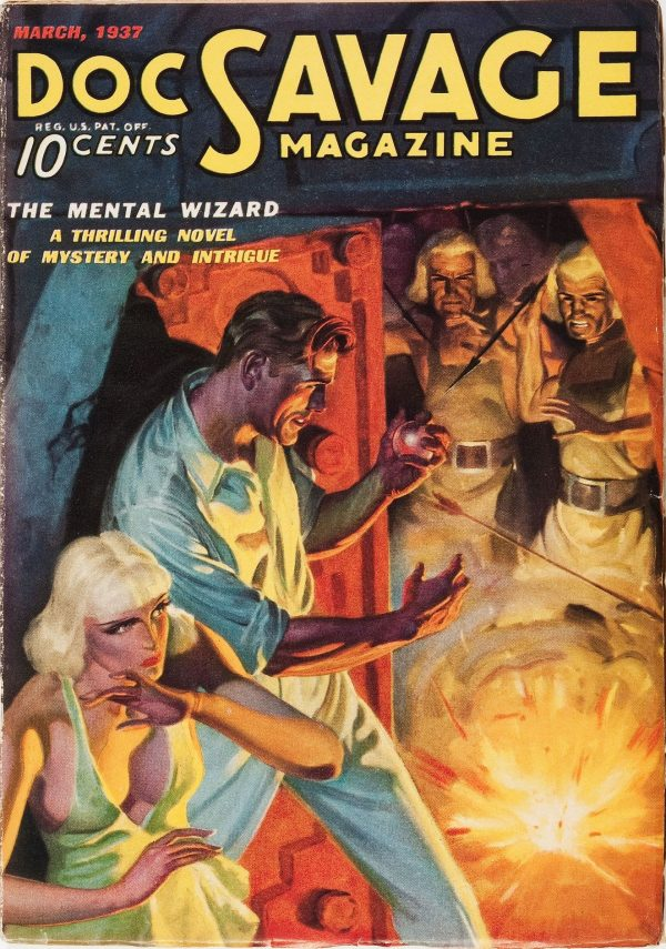 March 1937 Doc Savage