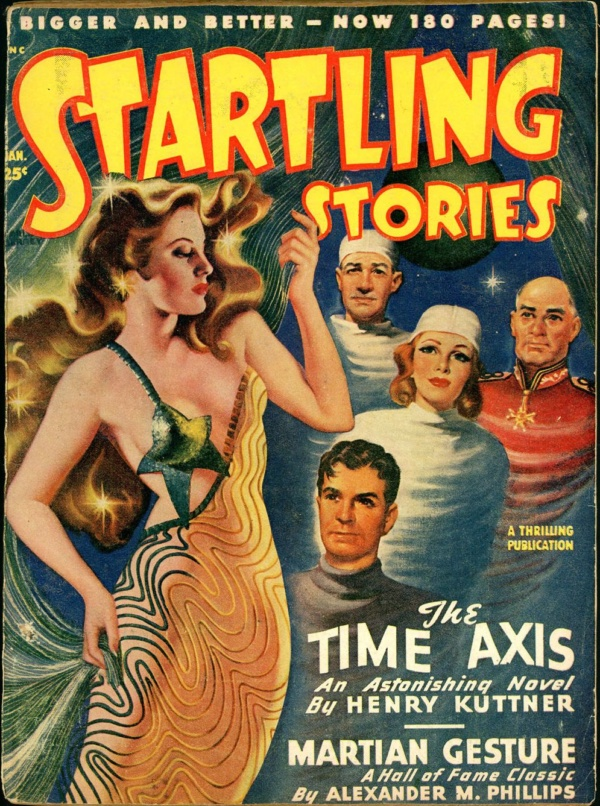 STARTLING STORIES. January, 1949
