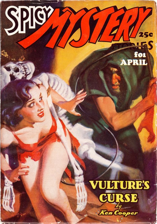 Spicy Mystery - April 1937