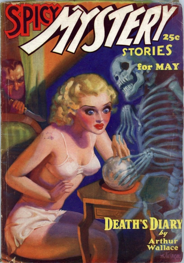 Spicy Mystery, May 1936