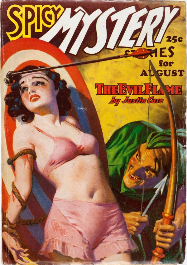 Spicy Mystery Stories - August 1936