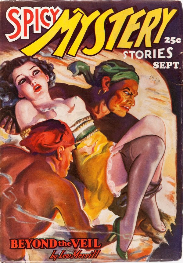 Spicy Mystery Stories - September 1936