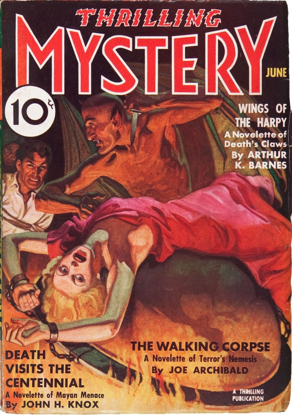 Thrilling Mystery June 1937