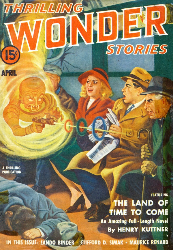 Thrilling Wonder Stories, April 1941