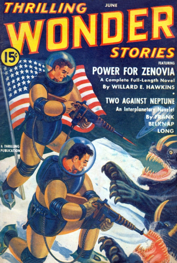 Thrilling Wonder Stories June 1941