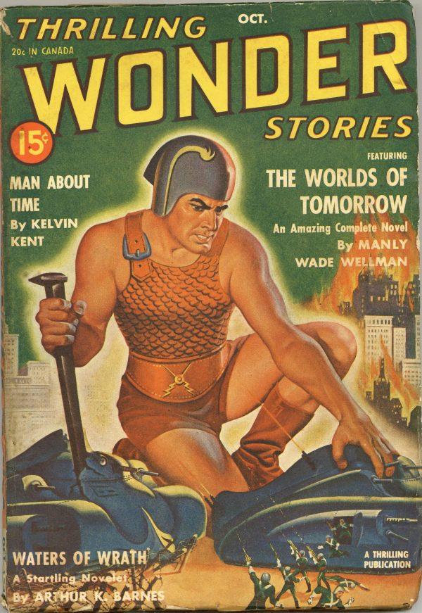 Thrilling Wonder Stories October 1940