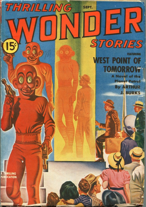 Thrilling Wonder Stories September 1940