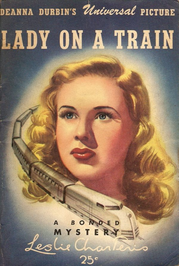 111 Leslie Charteris Lady on a Train Bonded