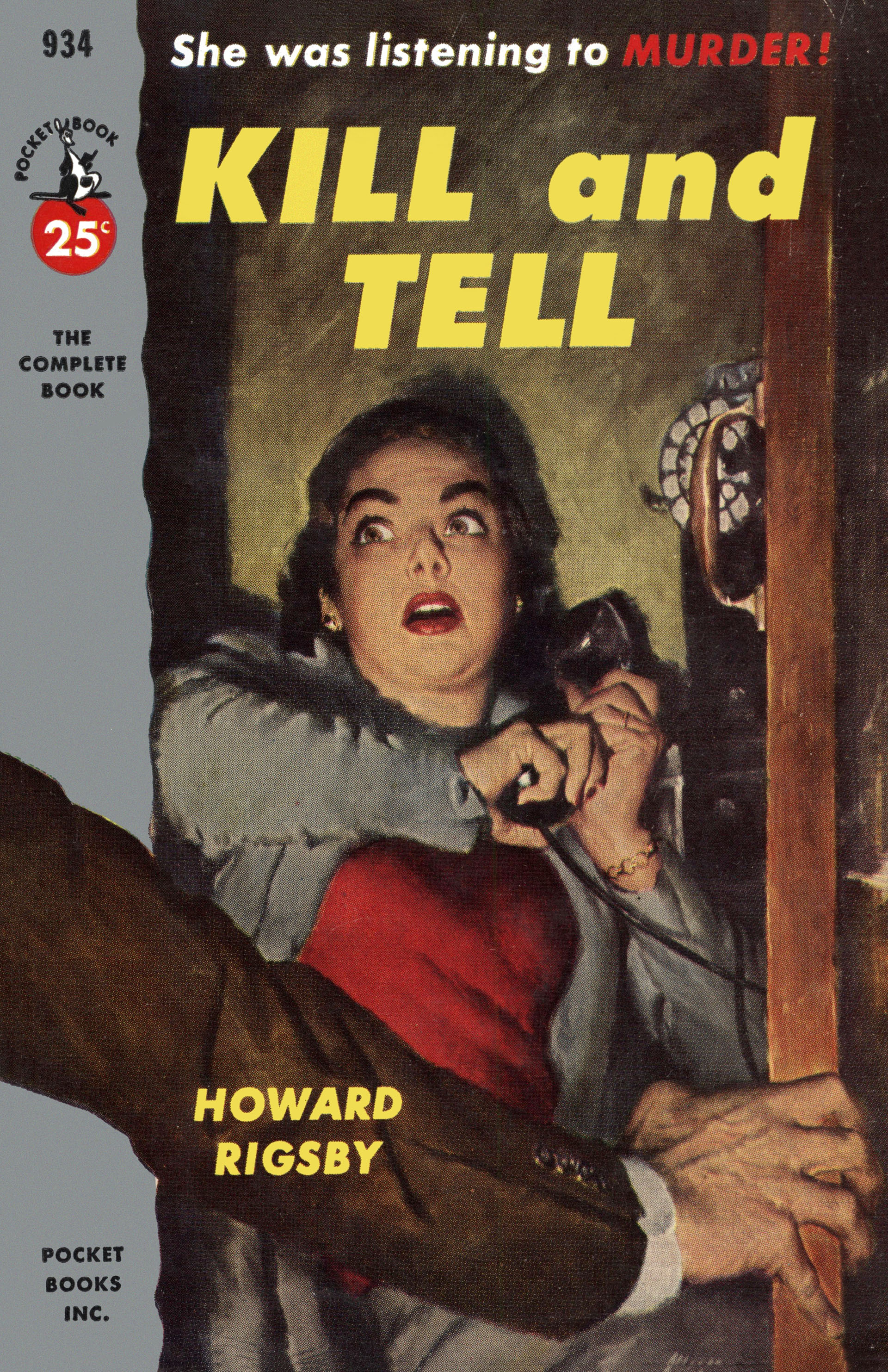 Image result for kill and tell pulp cover