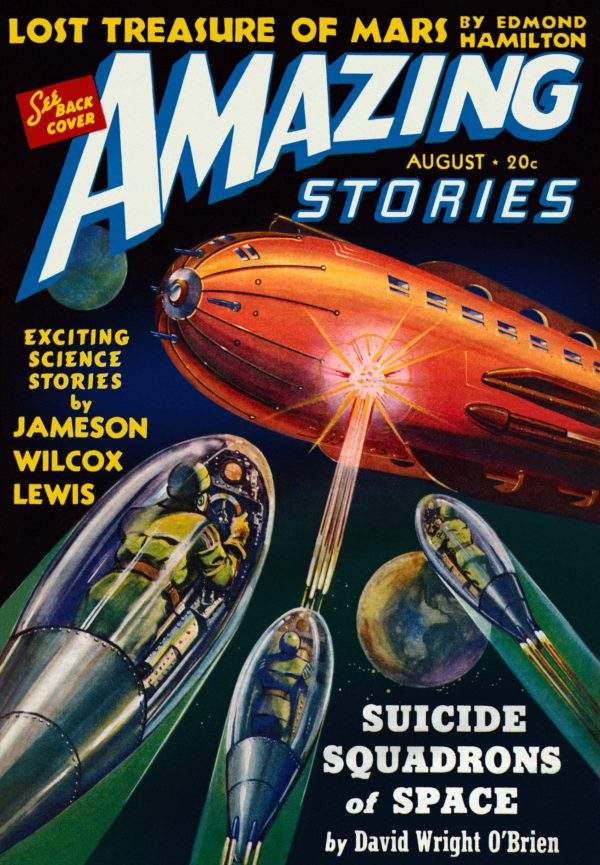 Amazing Stories: August 1940