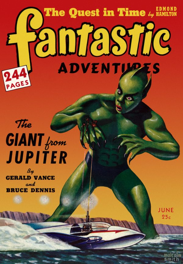 Fantastic Adventures: June 1942