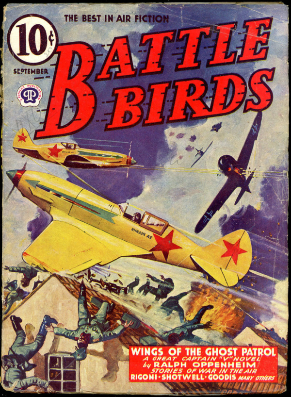 BATTLE BIRDS. September 1943