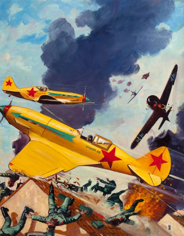 Battle Birds, September 1943, Wings of the Ghost Patrol