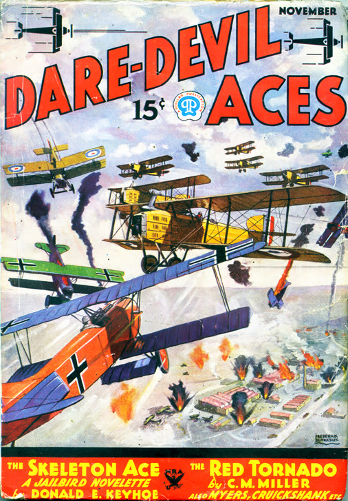 Dare-Devil Aces November 1934