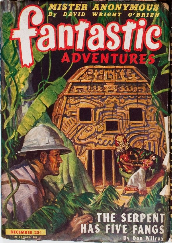 Fantastic Adventures, December 1945