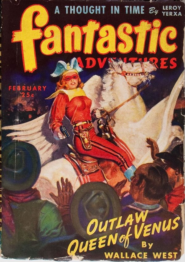 Fantastic Adventures, February 1944