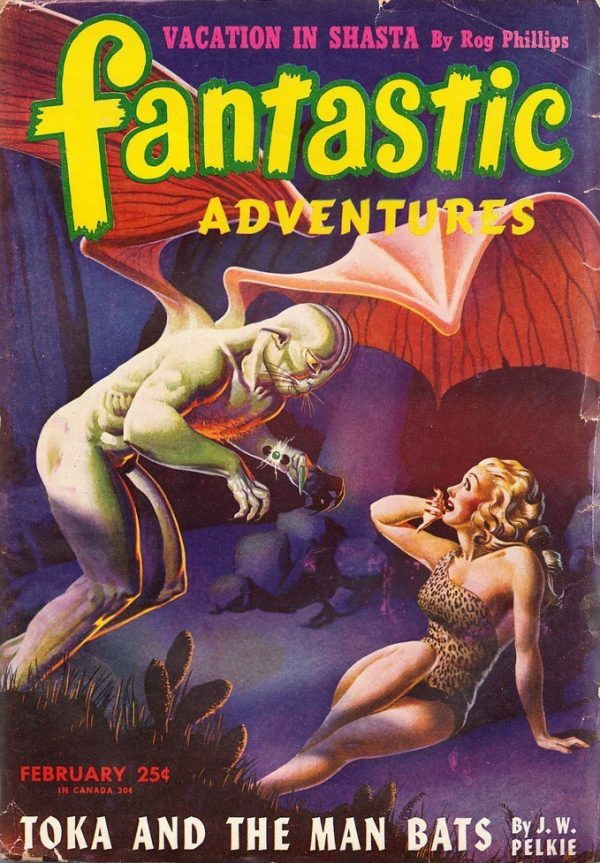 Fantastic Adventures February 1946