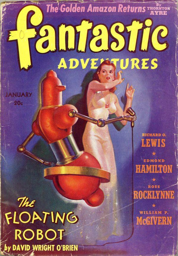 Fantastic Adventures January 1941
