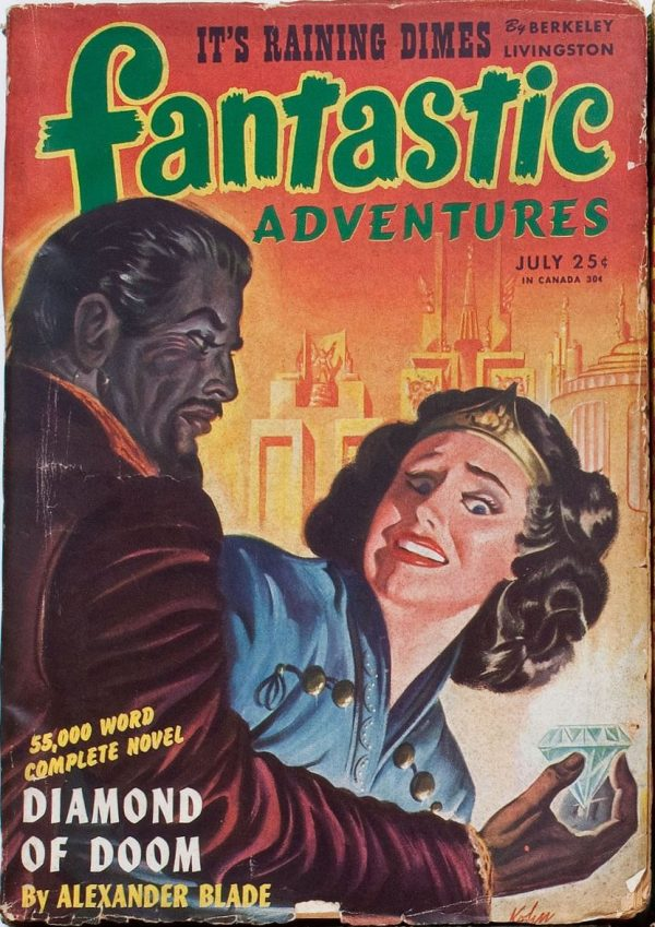 Fantastic Adventures, July 1945