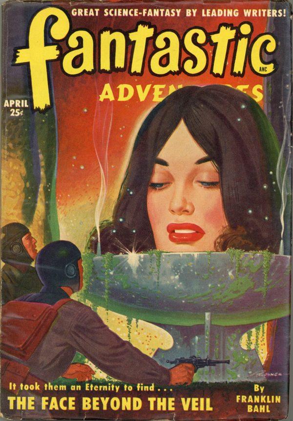 Fantastic Adventures Magazine April 1950