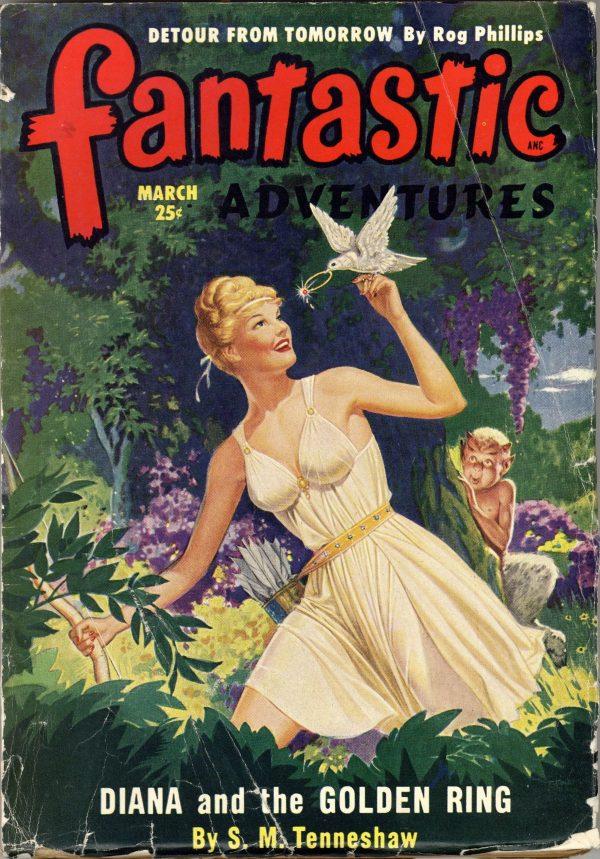 Fantastic Adventures, March 1950