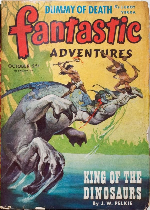 Fantastic Adventures, October 1945