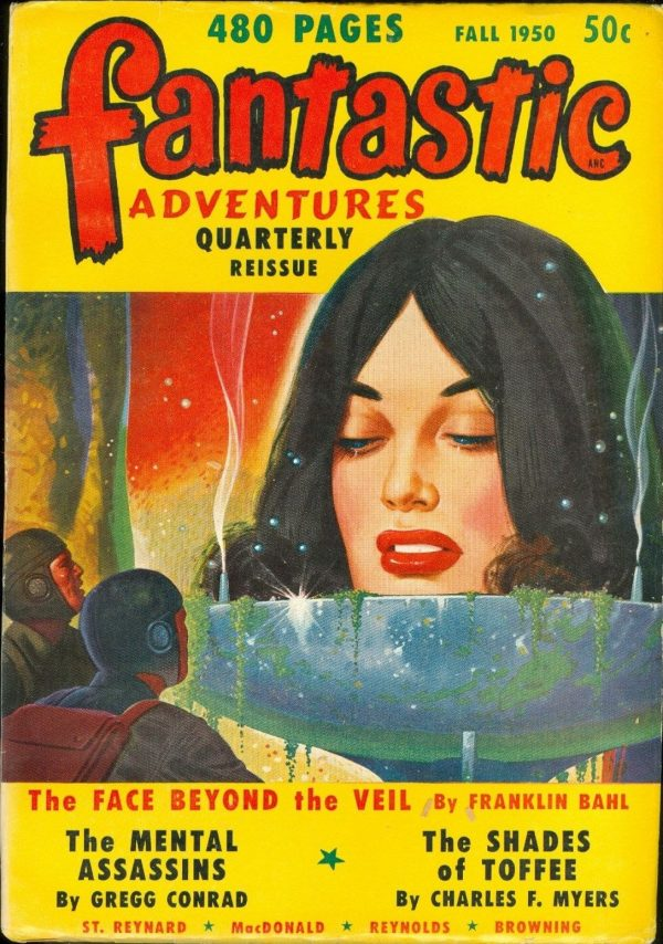 Fantastic Adventures Quarterly Reissue, Fall 1950
