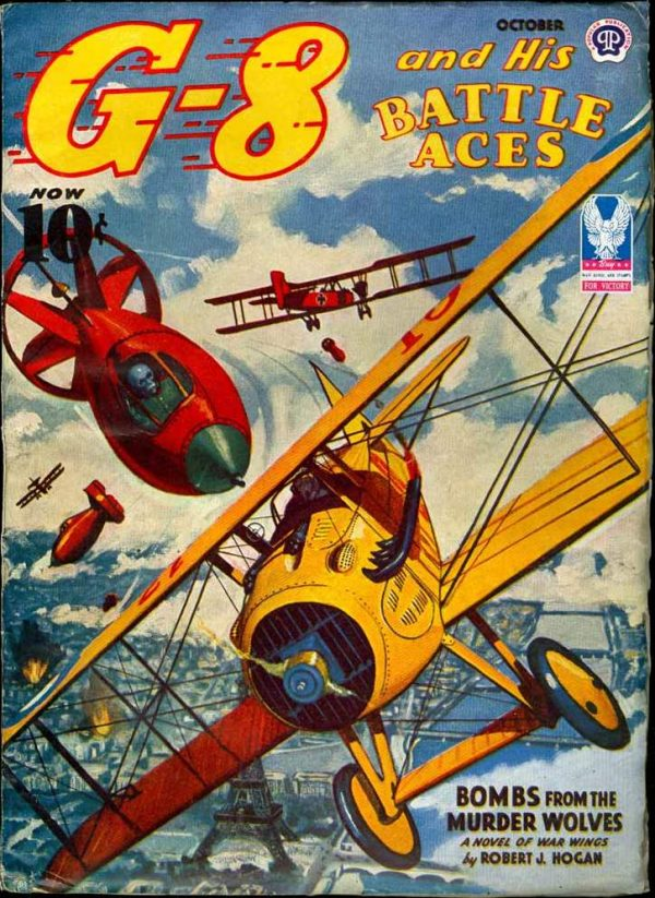 G-8 AND HIS BATTLE ACES v27 #2 October 1943