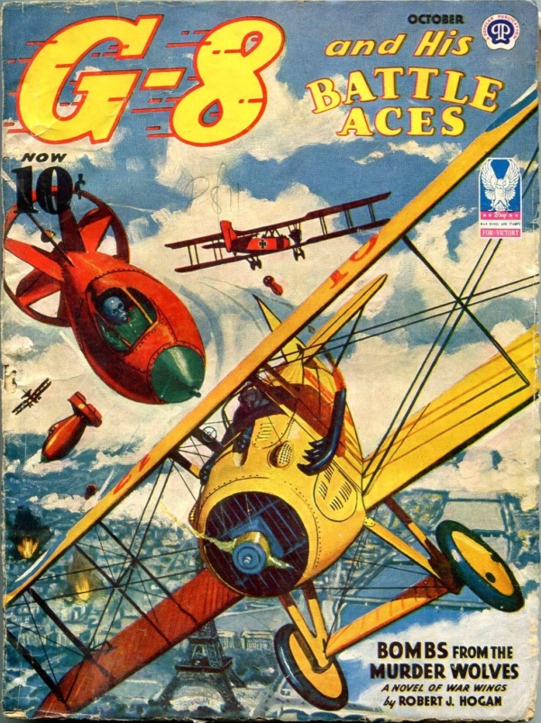 G-8 And His Battle Aces October 1943