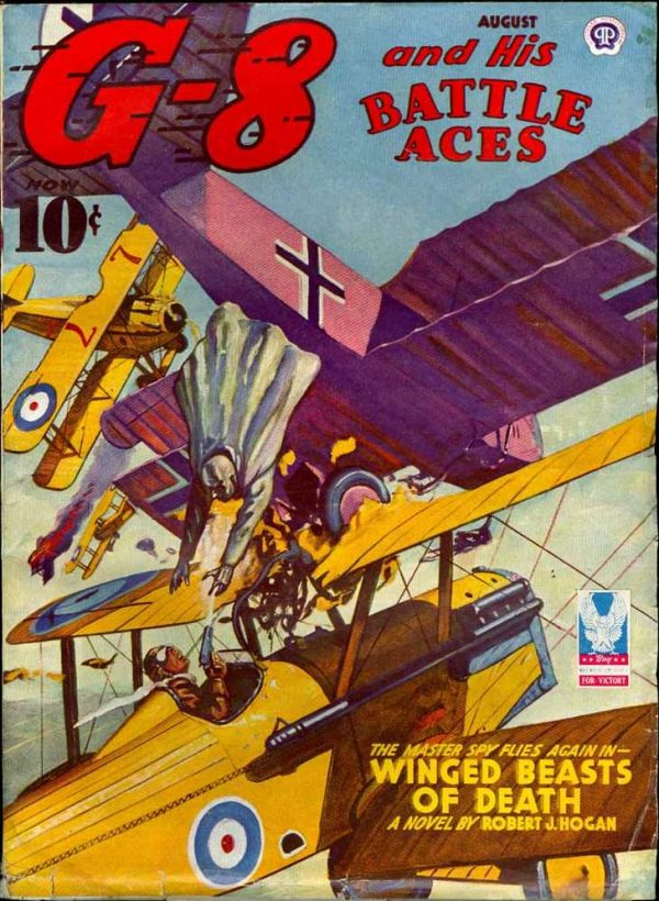 G-8 And His Battle Aces V27 #1 August 1943
