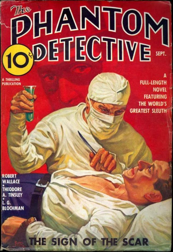 Phantom Detective V16 #2 September 1936