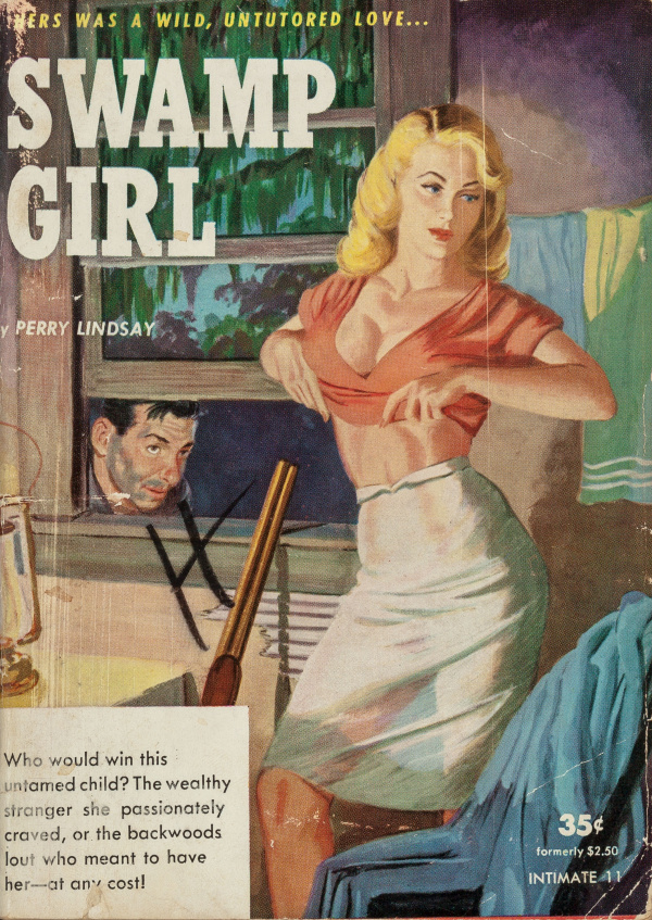 Swamp Girl (Intimate Novel No. 11) 1950