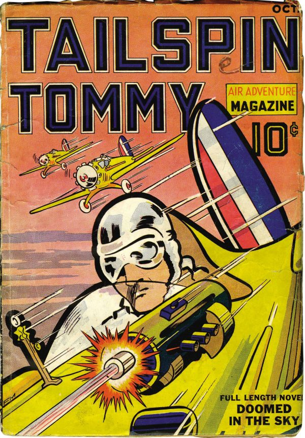 Tailspin Tommy #1 October 1936
